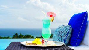 Beaches Refreshing Sweet Cocktail Tropical Cold Aqua Drinks Sky Sunshine Fresh Cool Beach Clouds Glass Blue Umbrella Ice Drink Wallpaper Scene 1920x1080